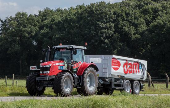 Beroepsopleiding tractor